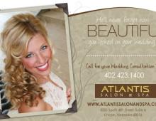 Atlantis Salon | Print Ad