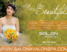 Salon Avalon | Print Ad