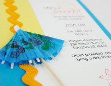 Just Beachy | Invitation