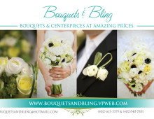 Bouquets & Bling Print Ad