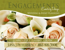 Events by Design Print Ad