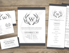 Invitation Set | Antlers