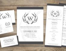 Invitation Set | Antlers