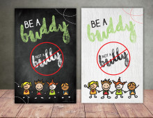 Education Poster | Be a Buddy