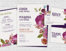 Invitation Set | Floral