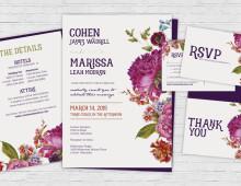 Invitation Set | Floral