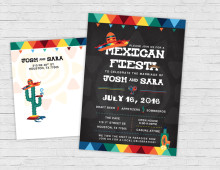 Invitation | Mexican Fiesta