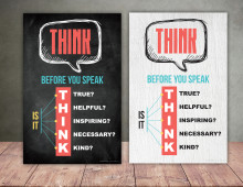 Education Poster | Think